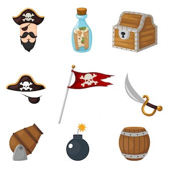 Ensemble de pirates