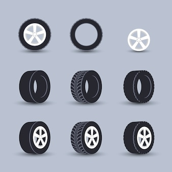 Ensemble de pneus