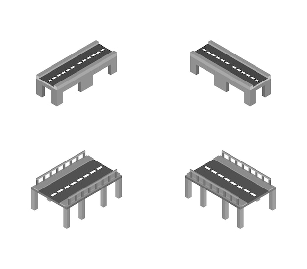 Ensemble de ponts isométriques