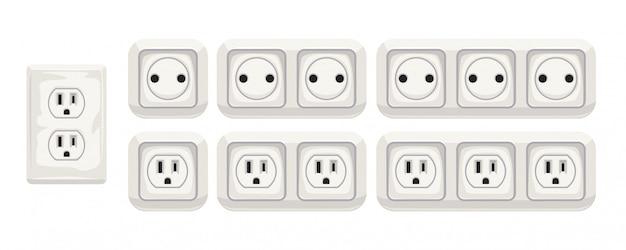 Ensemble de prise électrique
