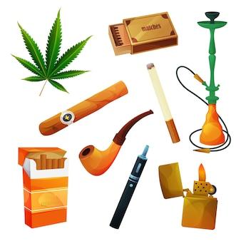 Ensemble de produits du tabac