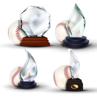 Ensemble de récompense de jeu de baseball