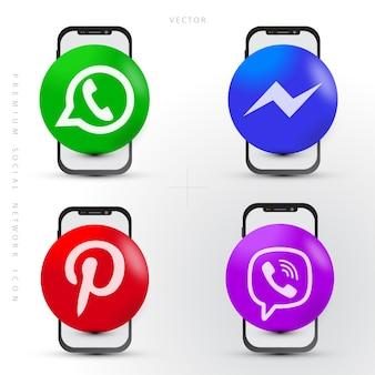 Ensemble de réseau social