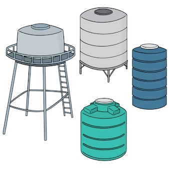 Ensemble de réservoir de stockage d'eau