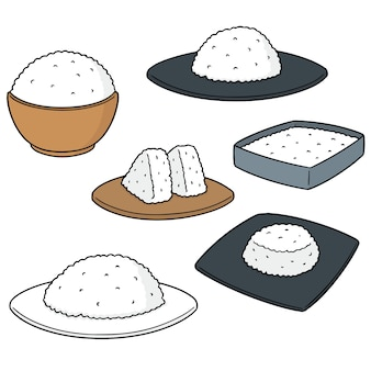 Ensemble de riz