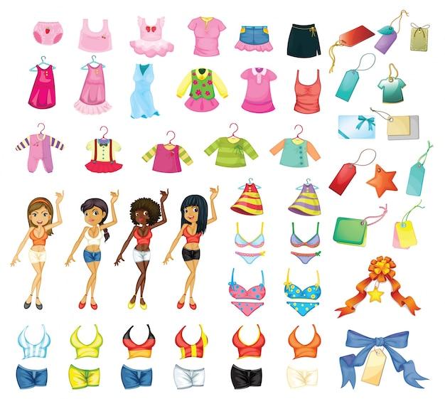 Ensemble de robes de fille
