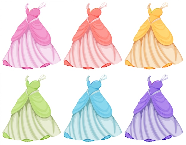Ensemble de robes