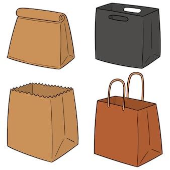 Ensemble de sac en papier