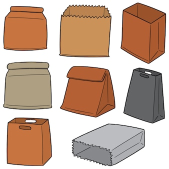 Ensemble de sacs en papier