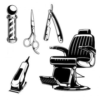 Ensemble de salon de coiffure