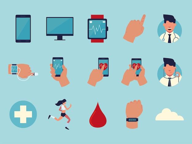 Ensemble de santé portable
