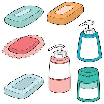 Ensemble de savon