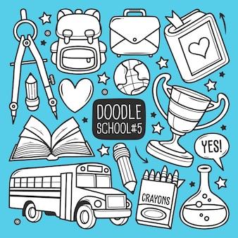 Ensemble scolaire doodle