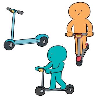 Ensemble de scooter