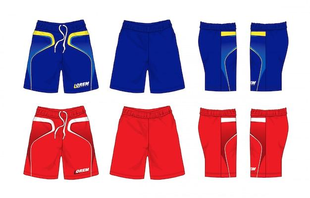 Ensemble de shorts de sport
