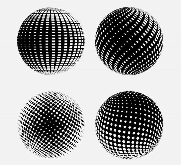 Ensemble de sphères 3d