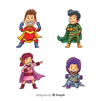 Ensemble de super héros