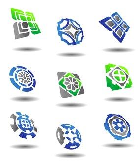 Ensemble de symboles abstraits