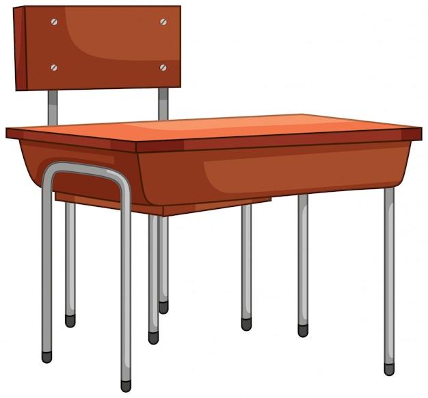 Un ensemble table et chaise