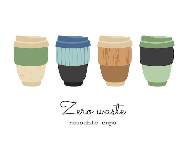 Ensemble de tasses à café thermo