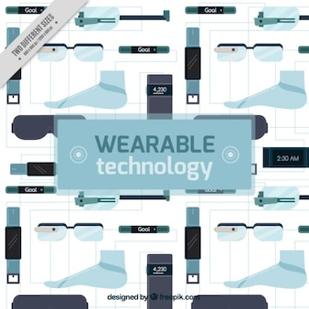 Ensemble de la technologie wearable
