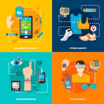 Ensemble de technologies intelligentes