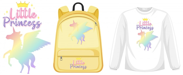 Ensemble de tenue de licorne
