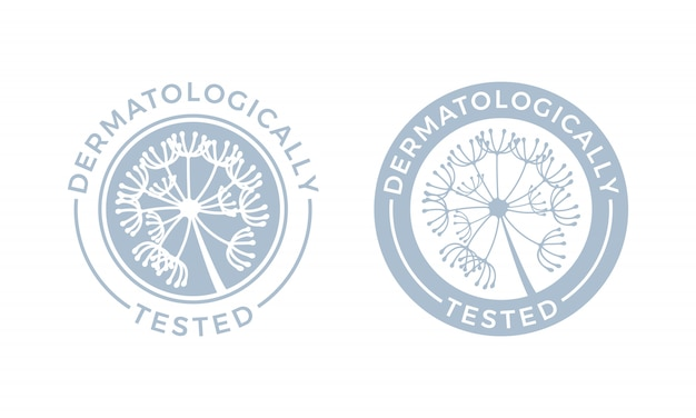 Ensemble testé dermatologiquement