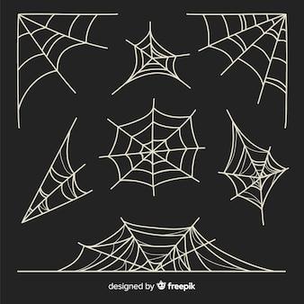 Ensemble de toiles d'araignées