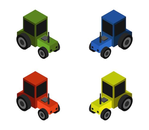 Ensemble de tracteur isométrique