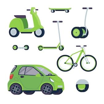 Ensemble de transport électrique écologique