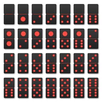 Ensemble de tuiles domino