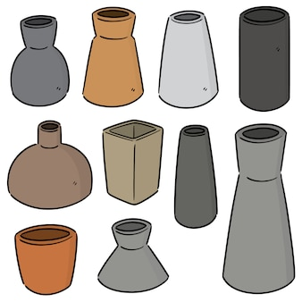 Ensemble de vase