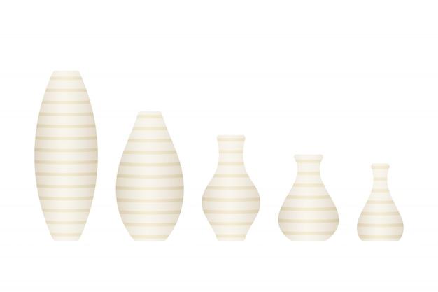 Ensemble de vases