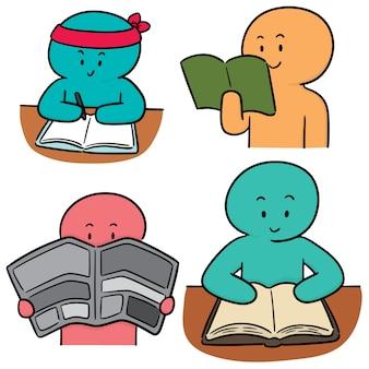 Ensemble de vecteur de lecteur
