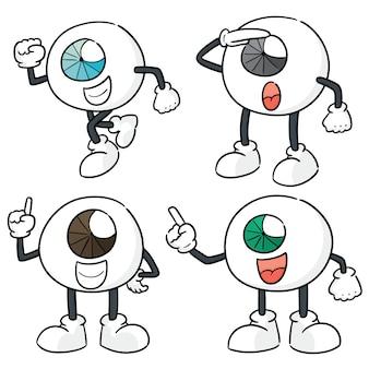 Ensemble de vecteurs de dessin animé