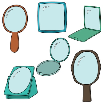 Ensemble de vecteurs de miroir