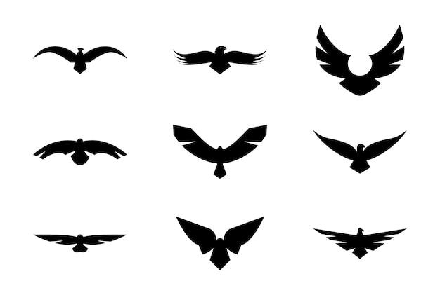 Ensemble de vecteurs solides hawk