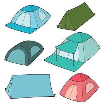 Ensemble de vecteurs de tentes