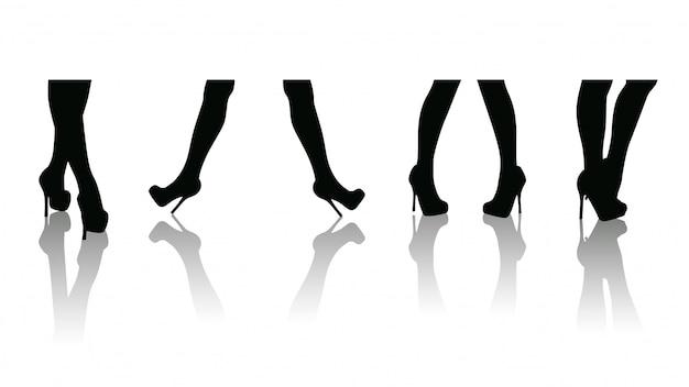Ensemble de vente de jambes