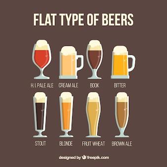 Ensemble de verres à bière