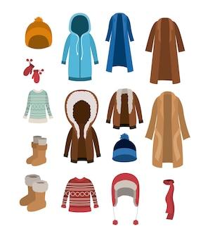 Ensemble de vêtements d'hiver