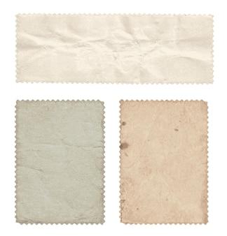 Ensemble de vieux timbres (verso) vintage.