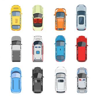 Ensemble de voitures