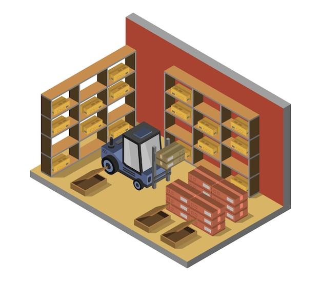 Entrepôt isométrique