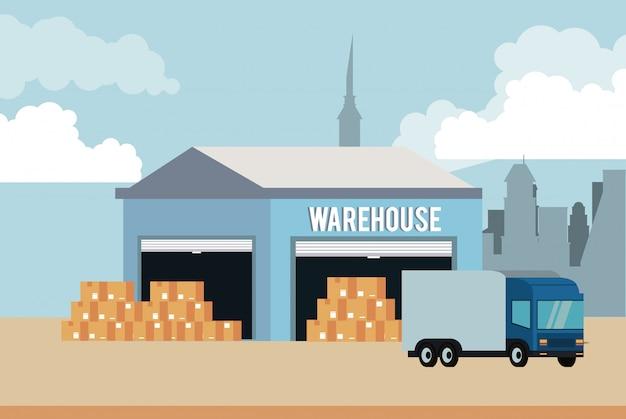 Entrepôt et logistique