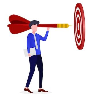 Les entrepreneurs atteignent leurs objectifs commerciaux