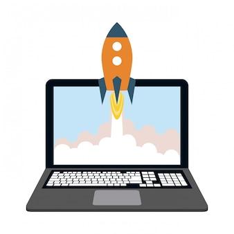 Entreprise de démarrage en ligne