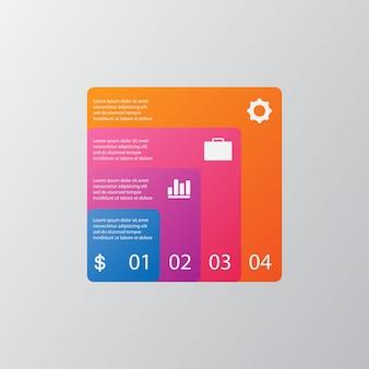 Entreprise de modèle de données illustration visuelle
