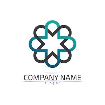 Entreprise de modèle de logo